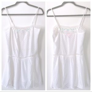Victoria's Secret Angels Embroidered Slip Dress XS